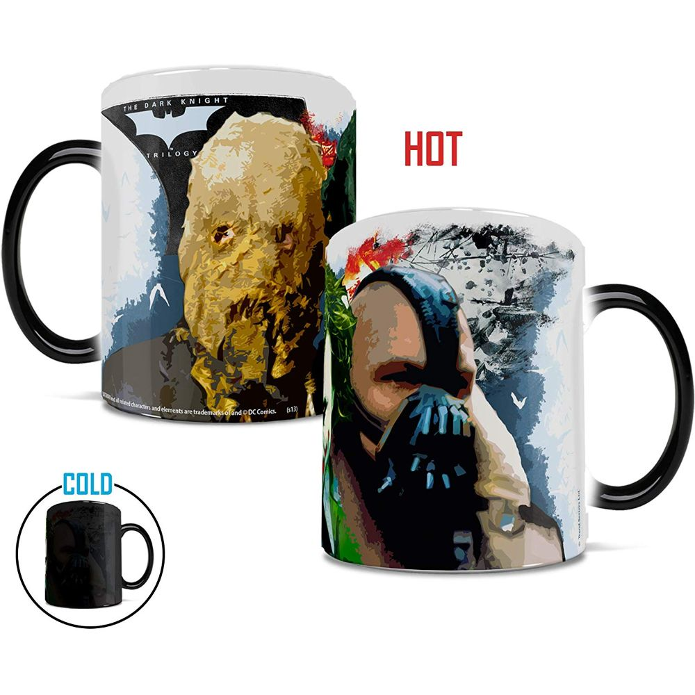 The Dark Knight Trilogy Rogues Gallery Heat Transforming Mug