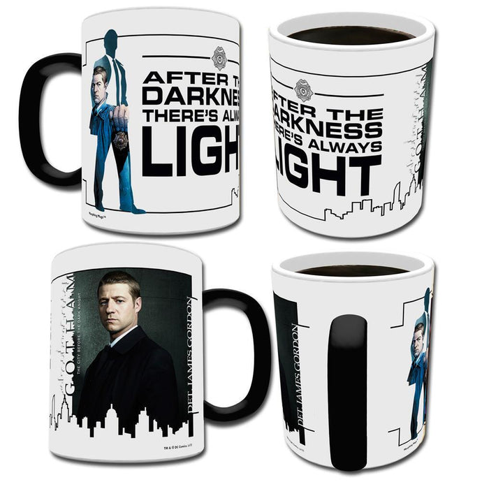 Gotham James Gordon Transforming Mug