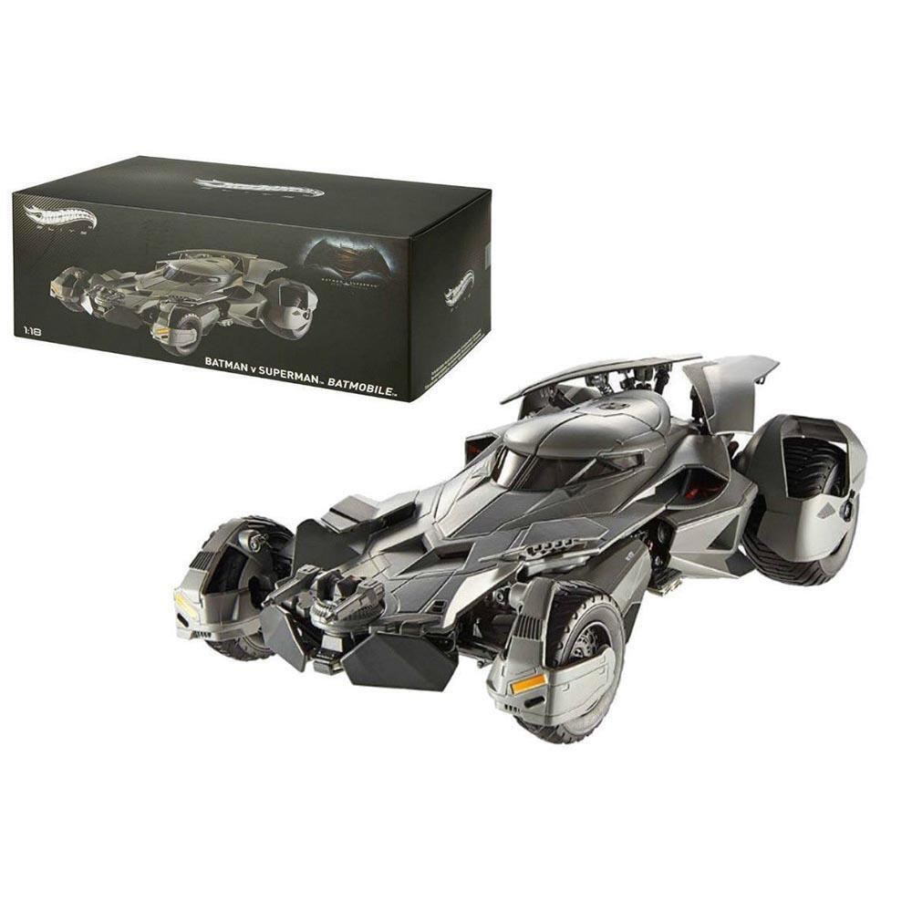 Batman v Superman: Dawn of Justice 1:18 Scale Hot Wheels Elite Die-Cast Batmobile