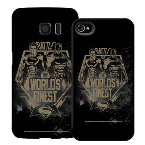 Batman v Superman: Dawn of Justice Battle of the World's Finest Phone Case for iPhone and Galaxy