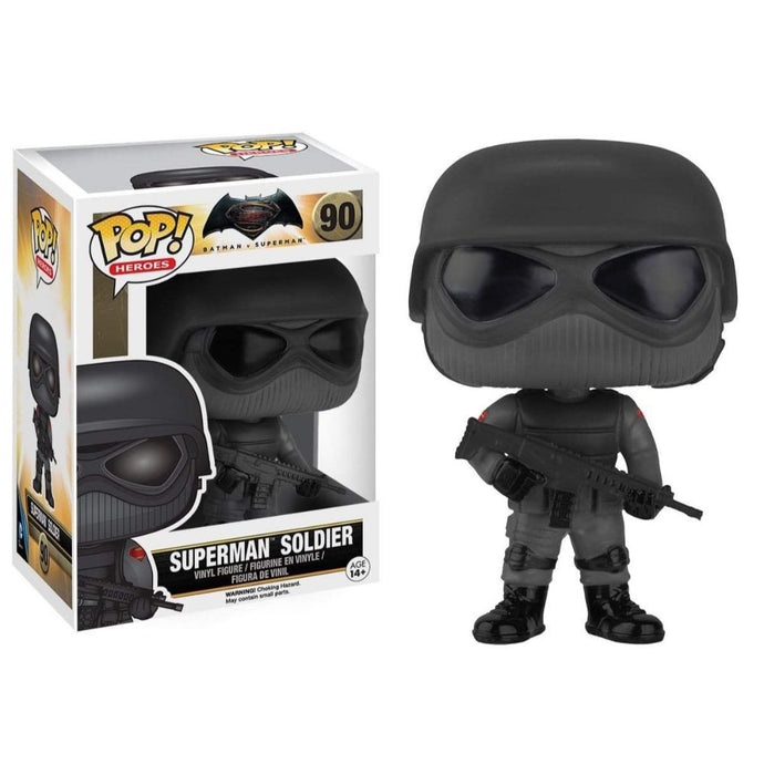 Batman v Superman: Dawn of Justice Superman Soldier Vinyl Pop! Figure by Funko