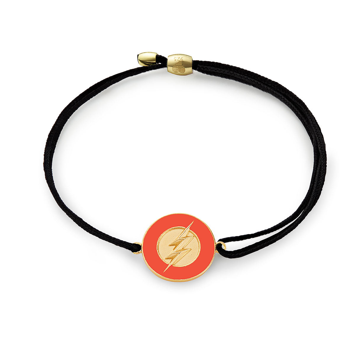 ALEX AND ANI Justice League Movie The Flash Pull Cord Bracelet