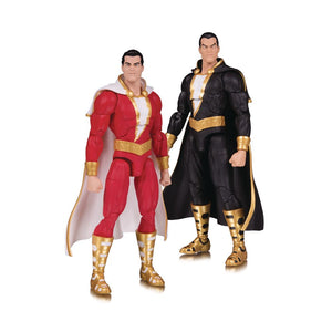 DC Essentials Shazam & Black Adam Action Figure 2-Pack