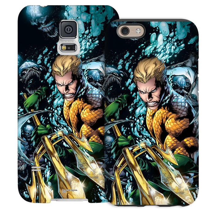 Aquaman Comic Book Cover Phone Case for iPhone and Galaxy