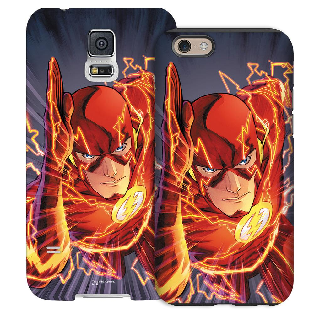 The Flash Comic Book Cover Phone Case for iPhone and Galaxy