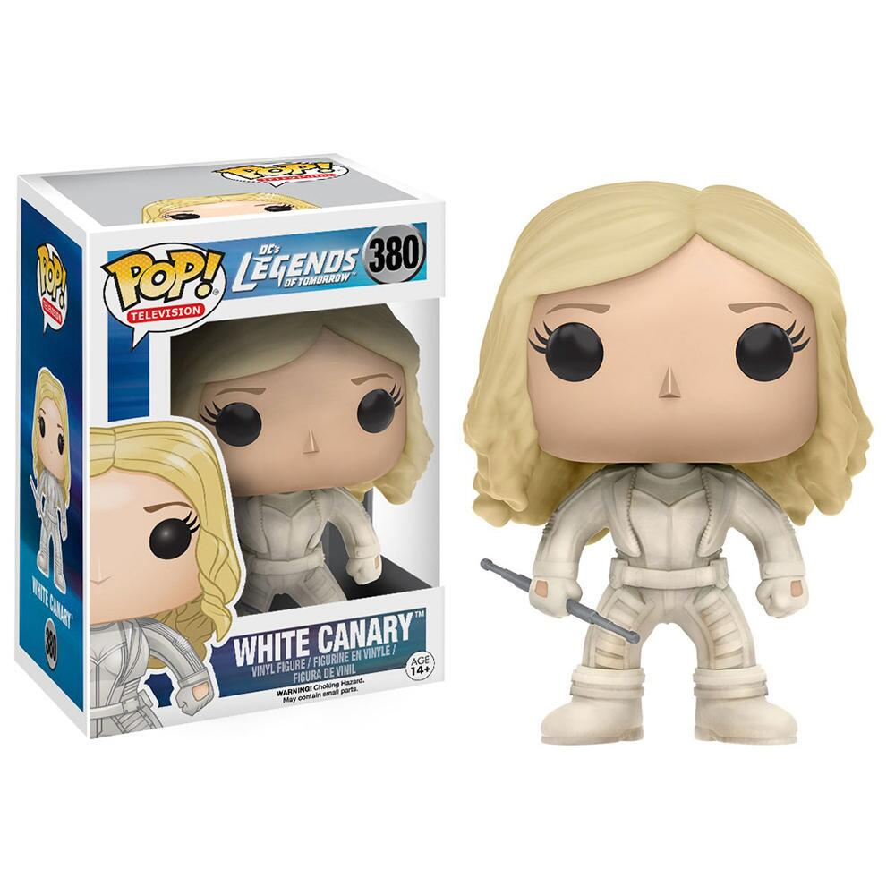 DC's Legends of Tomorrow White Canary Vinyl Pop! Figure by Funko