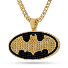 Justice League x King Ice - Batman Necklace