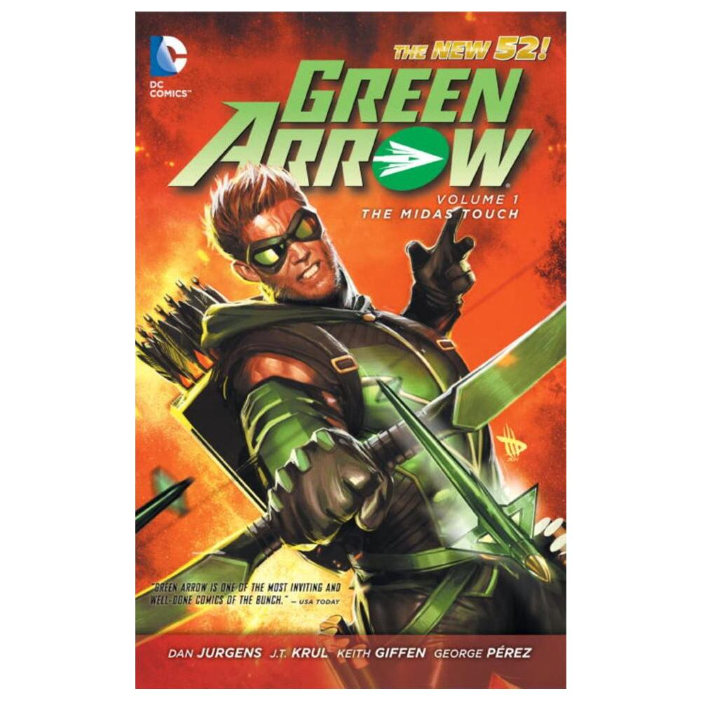 Green Arrow Vol. 1: The Midas Touch (The New 52) (Paperback)