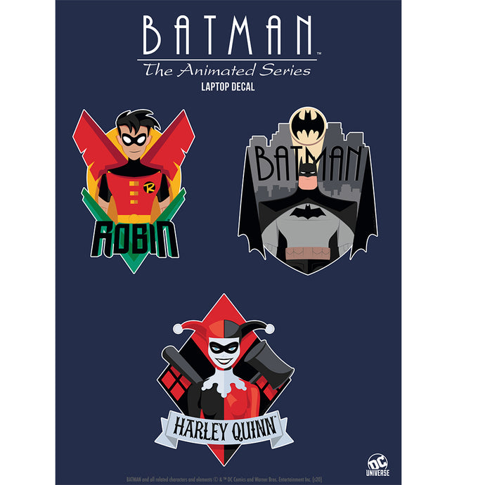 Batman: The Animated Series (The New Batman Adventures) Decals