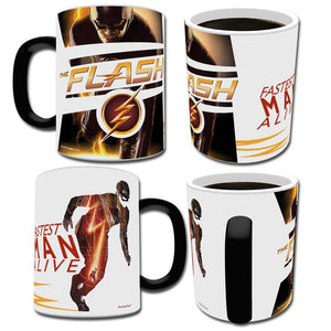 The Flash TV Series Fastest Man Alive Transforming Mug