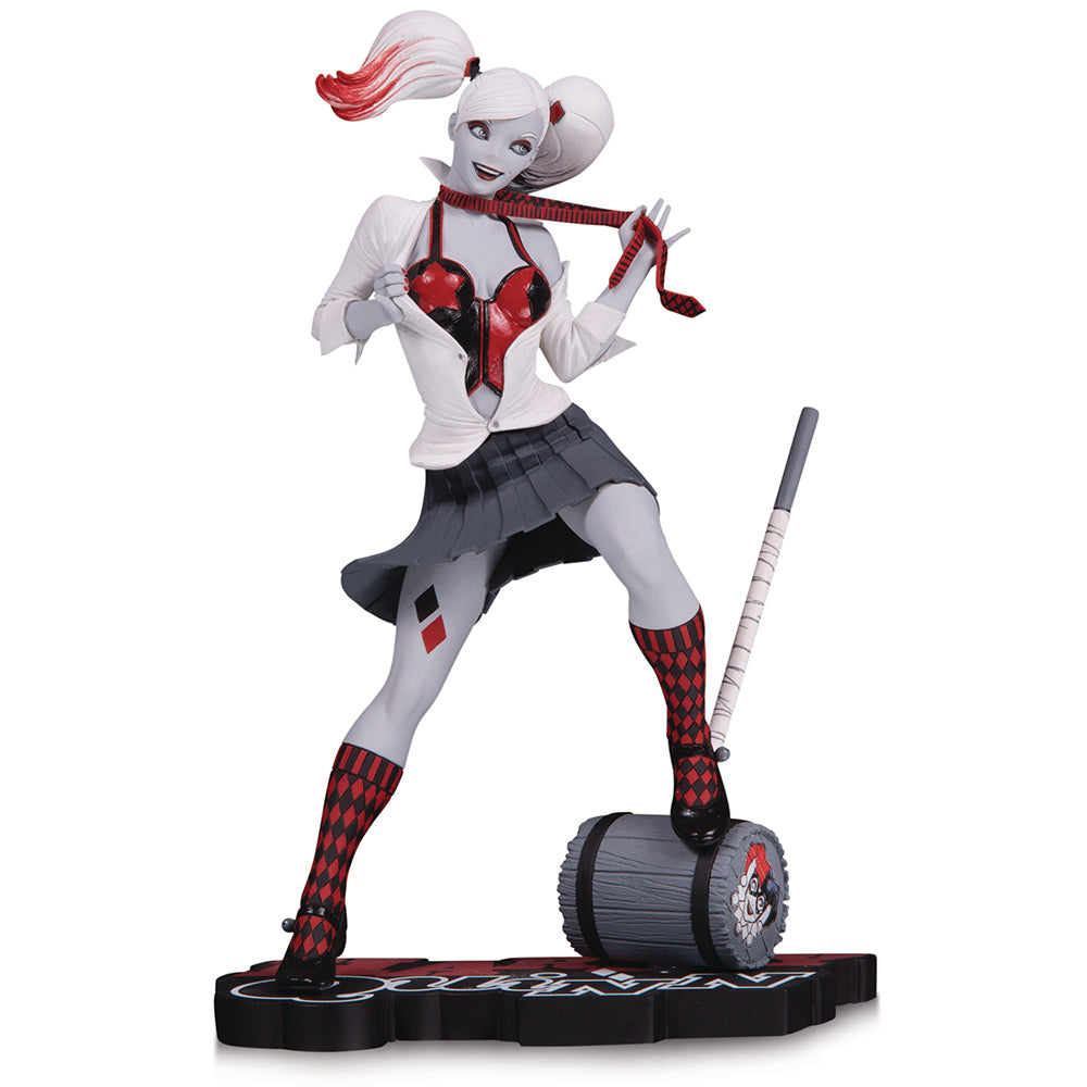 Harley Quinn Red White & Black by Guillem March Statue