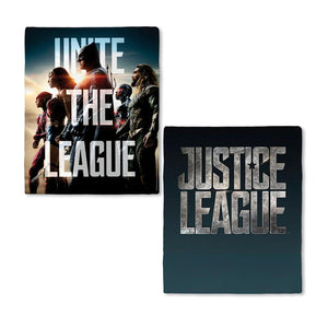 Justice League Movie Unite The League Fleece Blanket