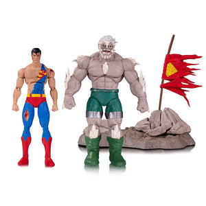 DC Icons Doomsday Death of Superman Deluxe Action Figure 2-Pack