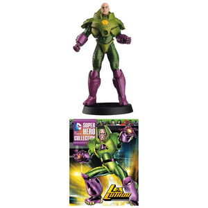 DC Superhero Best of Figure Collection Magazine #20 Lex Luthor