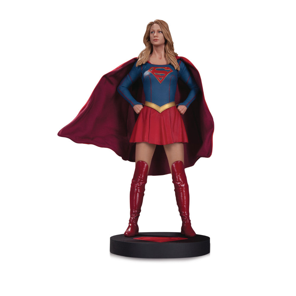 Supergirl TV Series Statue