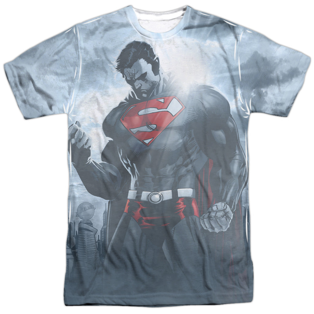 Superman Light of the Sun Adult Sublimation Allover Print T-Shirt