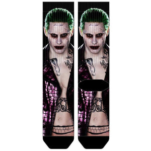 Suicide Squad Joker Sublimated Crew Socks