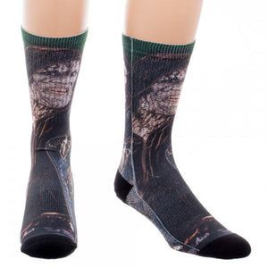 Additional image of Suicide Squad Killer Croc Sublimated Crew Socks