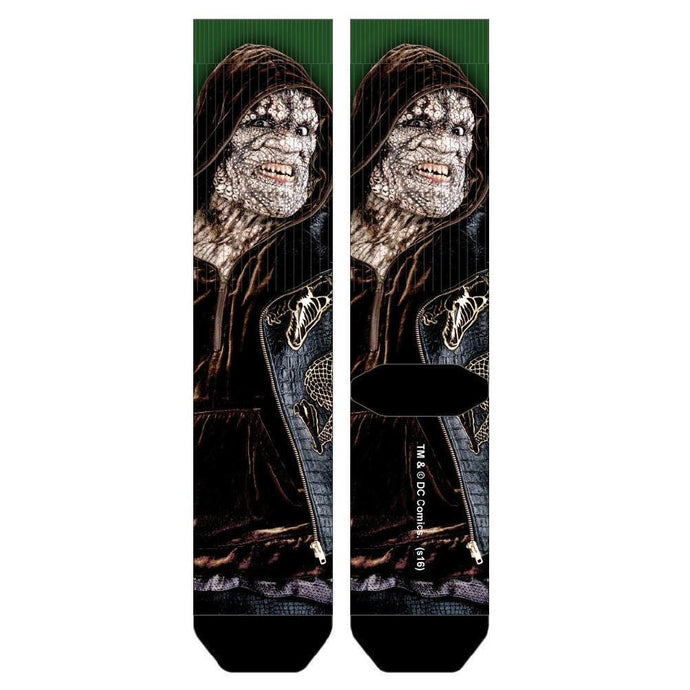 Suicide Squad Killer Croc Sublimated Crew Socks