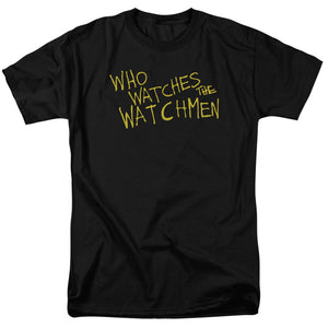 Watchmen Who Watches T-shirt
