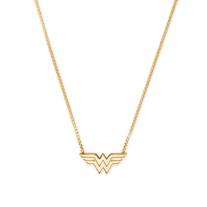 ALEX AND ANI Wonder Woman Adjustable Necklace 14kt Gold Plated