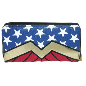 Additional image of Wonder Woman Zip Around Wallet