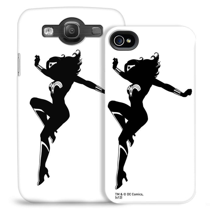 Wonder Woman Silhouette Phone Case for iPhone and Galaxy