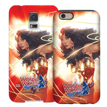 Wonder Woman 75th Anniversary Red Lasso Phone Case for iPhone and Galaxy