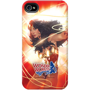 Additional image of Wonder Woman 75th Anniversary Red Lasso Phone Case for iPhone and Galaxy