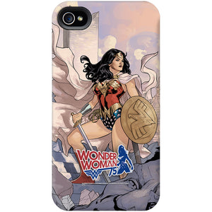 Additional image of Wonder Woman 75th Anniversary Shield and Sword Phone Case for iPhone and Galaxy