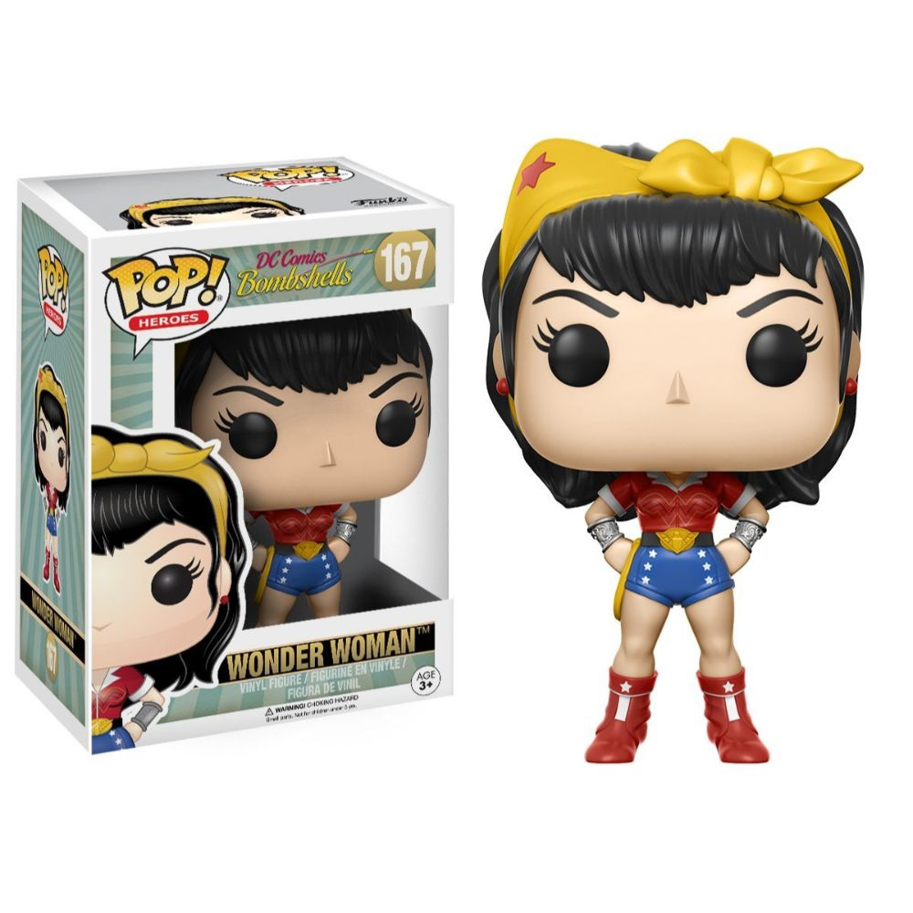 DC Bombshells Wonder Woman Pop Figure by Funko