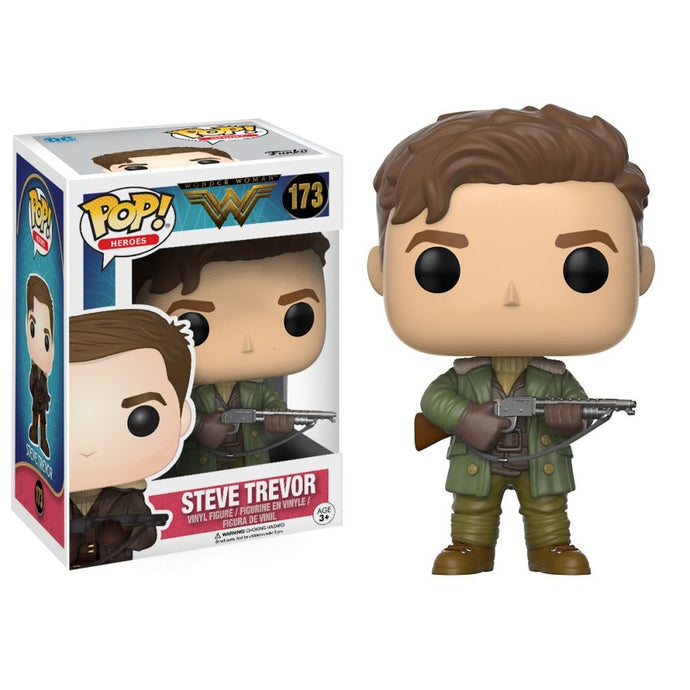 Wonder Woman Movie Steve Trevor Funko Pop! Vinyl Figure