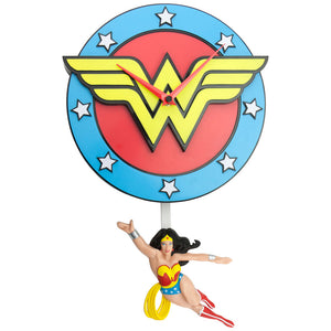 Wonder Woman 3-D Wall Clock