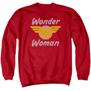 Wonder Woman Wonder Wings Crewneck Sweatshirt