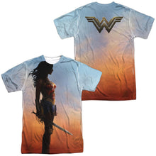 Wonder Woman Movie Poster Adult Sublimated T-Shirt