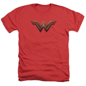 Wonder Woman Movie Logo Heather T-shirt