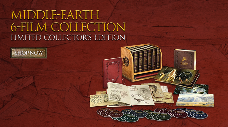 Middle-earth 6-Film Collection (Limited Collector's Edition) (BD)