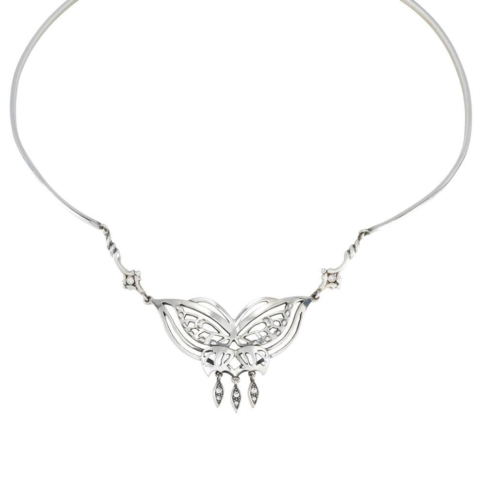 3bc93b85376 The Lord of the Rings Sterling Silver Butterfly Necklace of Arwen by Noble  Collection