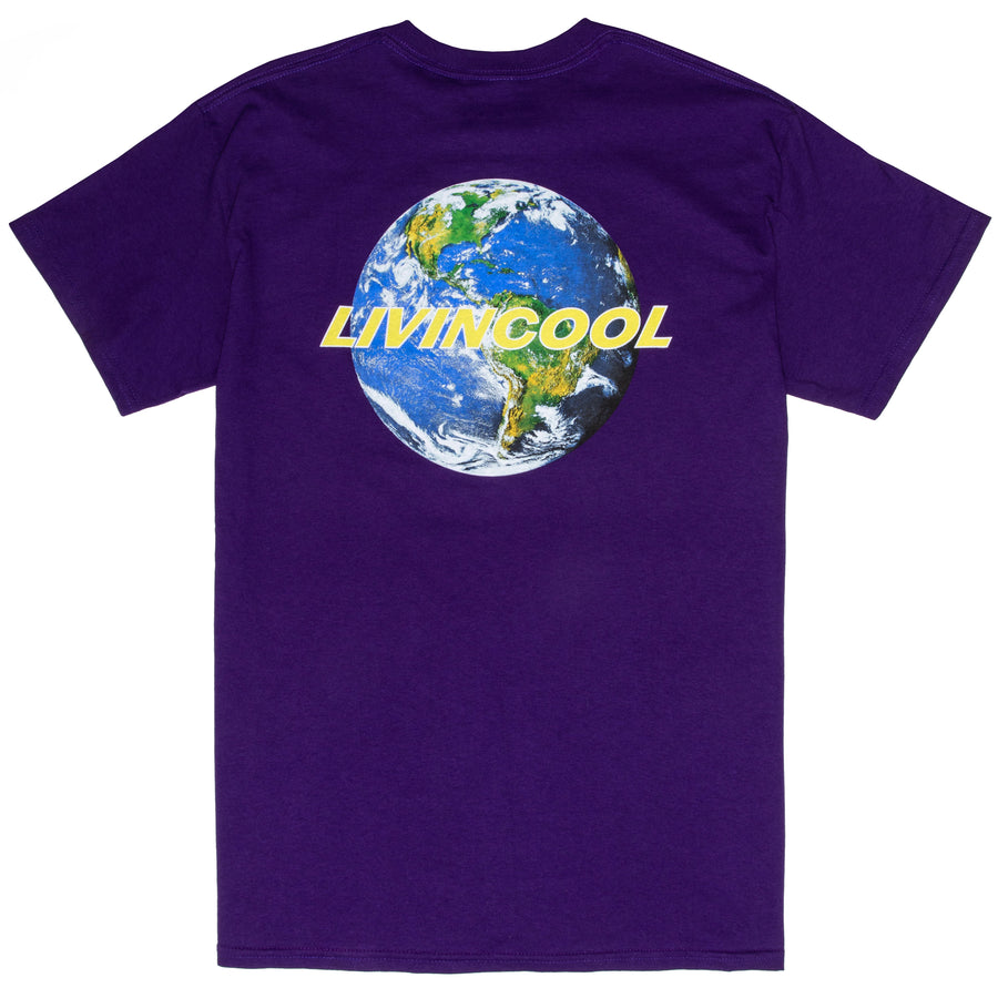 WORLD TEE-PURPLE
