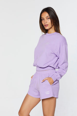 ESSENTIAL WOMEN'S SHORTS - LILAC