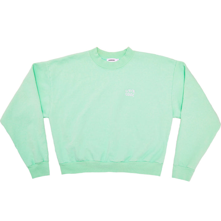 ESSENTIAL WOMEN'S CREWNECK SWEATSHIRT - MINT