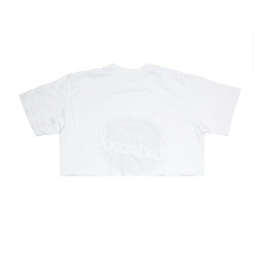 PARADISE CROP TOP - WHITE