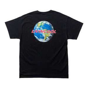 WORLD TEE-BLACK/WHITE