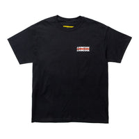 LIVINCOOL WORLD LOGO BLACK T-SHIRT