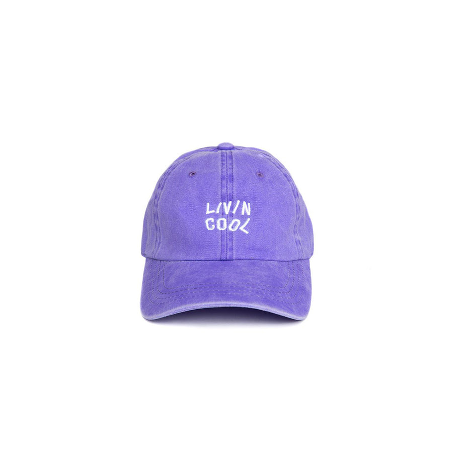 WAVY CAP - WASHED PURPLE