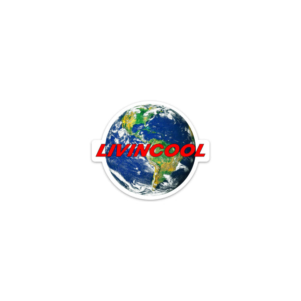 LIVINCOOL WORLD STICKER