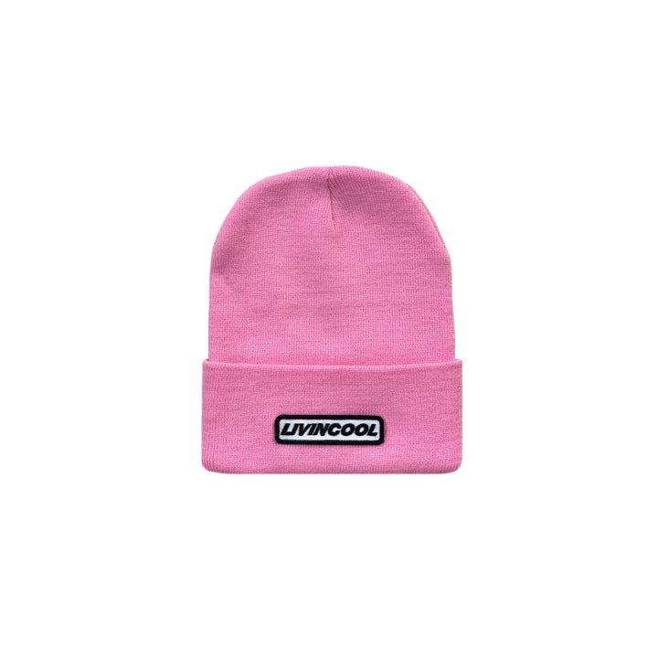 CLASSIC PATCH BEANIE - PINK