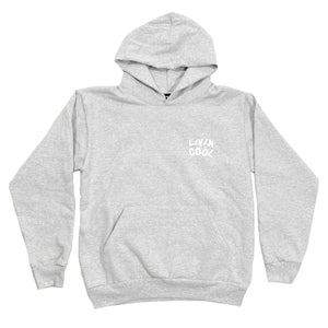 PUFF WAVY HOODIE - HEATHER GREY