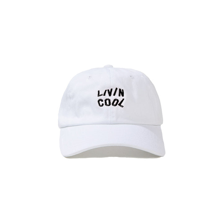 WAVY CAP- WHITE/BLACK