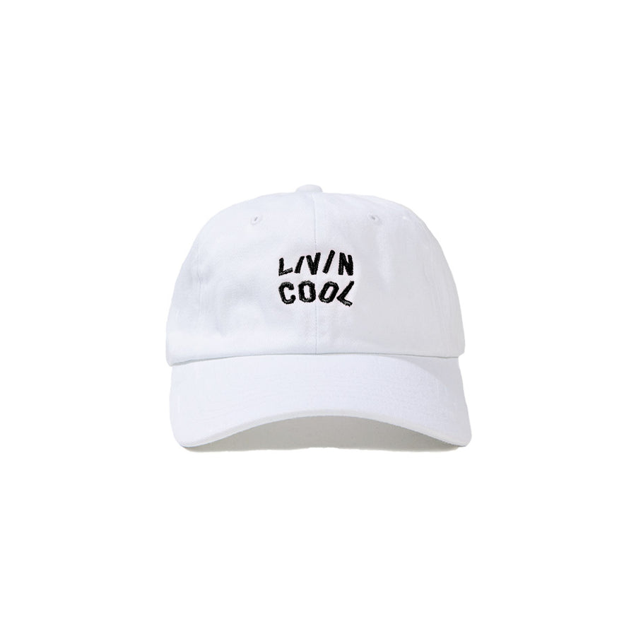 WAVY CAP - WHITE/BLACK